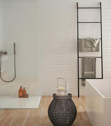Absolute White: Bathroom tiles: ceramic and porcelain stoneware - Marazzi