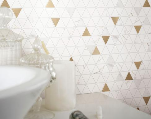 Bathroom and other locations mosaic tiles - Marazzi 10521