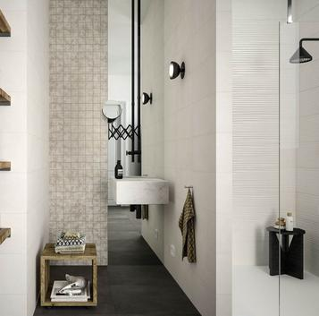 Chalk: Bathroom tiles: ceramic and porcelain stoneware - Marazzi