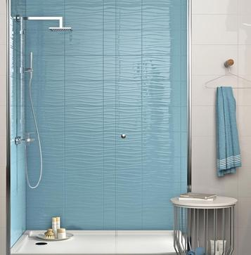 Chroma: Azure tiles: view the collections - Marazzi