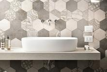 Grey Tiles: pearl, dark, light and dove. - Marazzi 6612