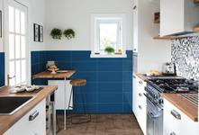Blue Tiles: view our collections - Marazzi 8464
