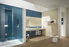 Blue Tiles: view our collections - Marazzi 3049