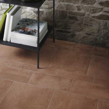 Small size brown tiles marazzi for Carrelage 33x33 beige