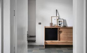 D_segni blend - Concrete Effect - Living Room
