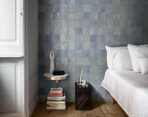 Azure tiles: view the collections - Marazzi 10249