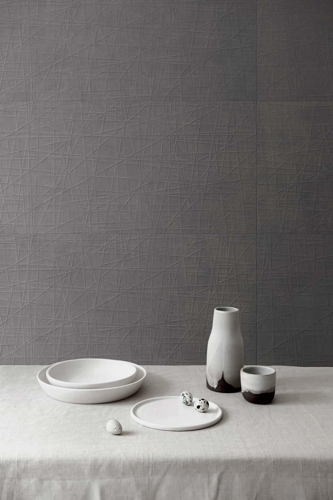 Fabric - Concrete Effect - Kitchen