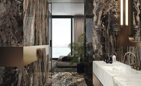 Brown porcelain stoneware: view the collections - Marazzi 10018