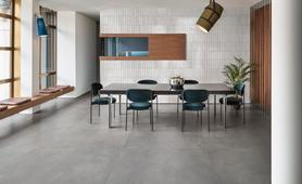 Grande resin look - Concrete Effect - Living Room