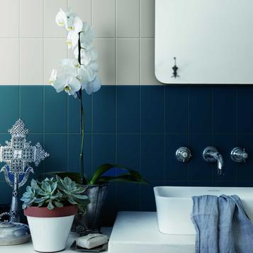 Small Size Blue Tiles Marazzi