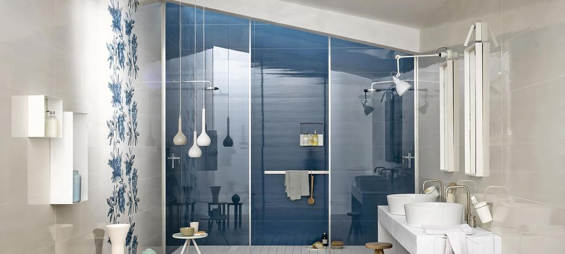 Blue Tiles: view our collections - Marazzi 6315