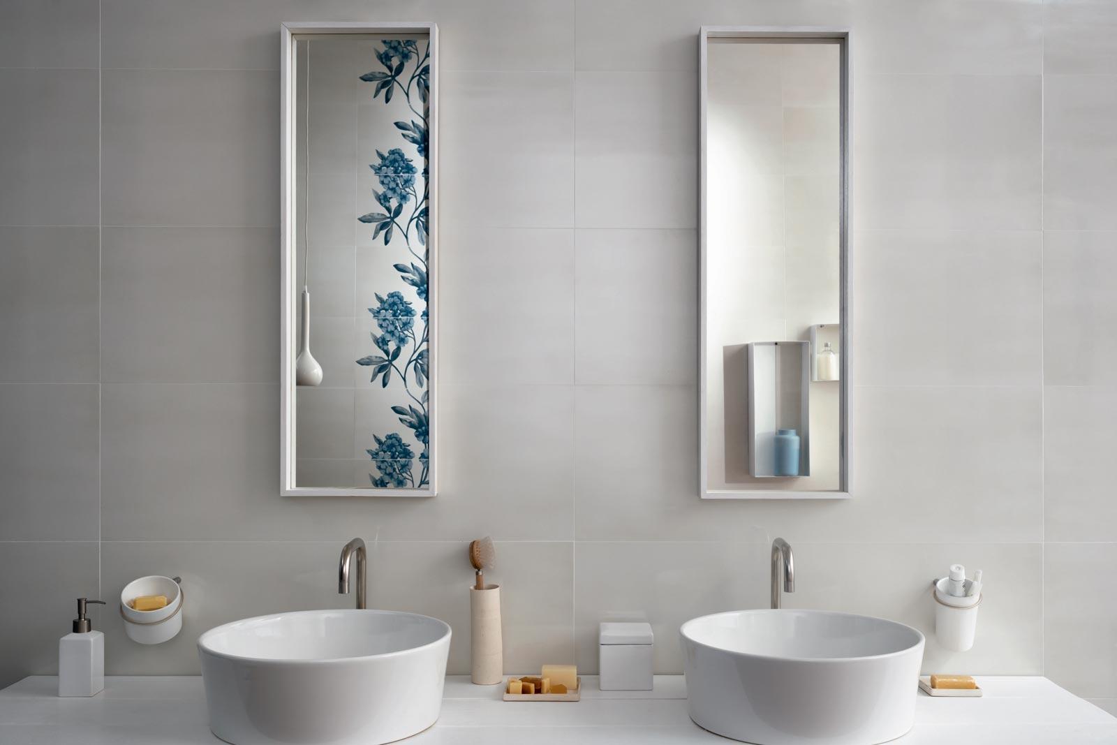 Imperfetto - Coloured porcelain bathroom tiles | Marazzi