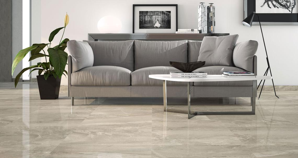 Lithos - Marble Effect - Living Room