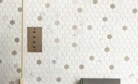 Bathroom and other locations mosaic tiles - Marazzi 10487