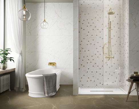 Bathroom and other locations mosaic tiles - Marazzi 10541