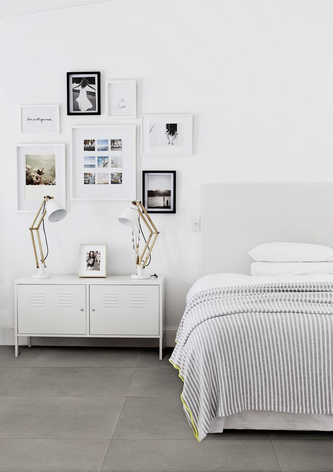 Material - Concrete Effect - Bedroom