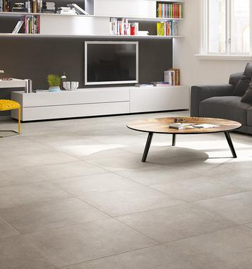 Midtown – concrete look stoneware tiles