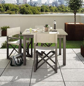 Multiquartz20 - outdoor porcelain thick tiles