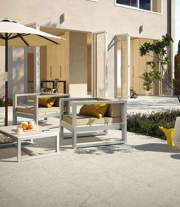 Tiles Outdoor White - Marazzi_585
