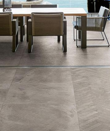 Mystone - Ardesia: Grey Tiles: pearl, dark, light and dove. - Marazzi