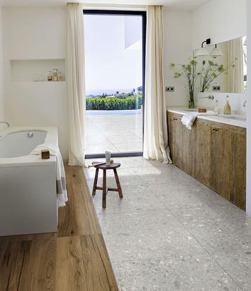 Mystone Ceppo di Gré: Bathroom tiles: ceramic and porcelain stoneware - Marazzi