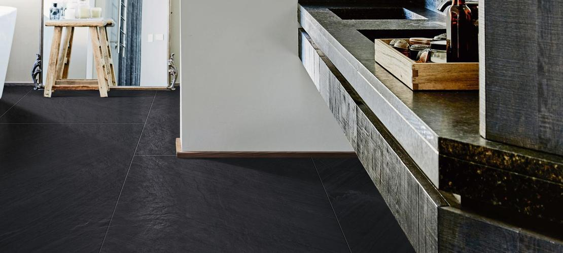 Black Tiles: view the collections - Marazzi 7738