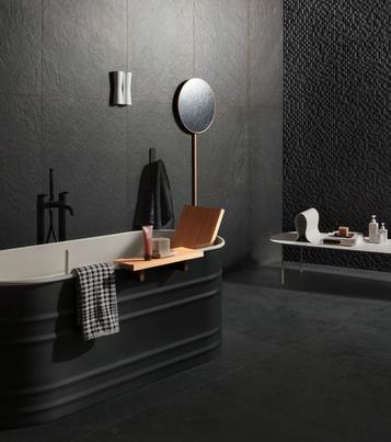 Mystone Lavagna: Floor and covering tiles: colours and effects - Marazzi