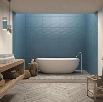 Neutral: Blue Tiles: view our collections - Marazzi