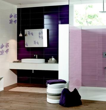Nuance: Purple Tiles: view our collections - Marazzi