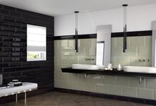 Black Tiles: view the collections - Marazzi 5018