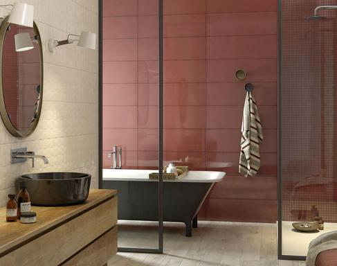 Red Tiles: view the collections - Marazzi 7040