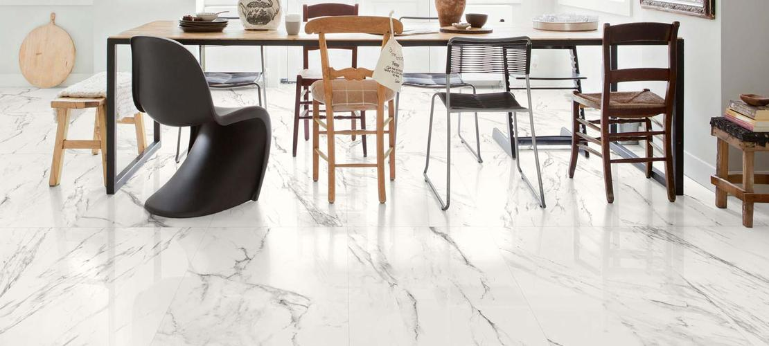 Marble effect porcelain stoneware: discover all the effects - Marazzi 8400