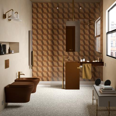 D_segni blend - Concrete Effect - Bathroom
