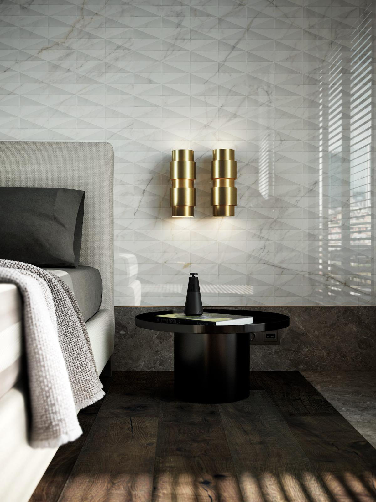 Allmarble wall - Marble Effect - Bedroom