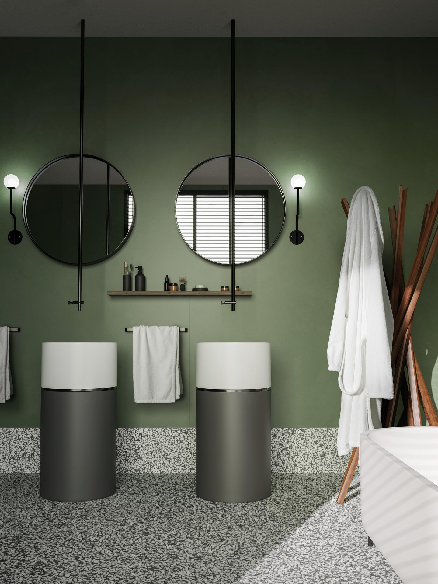 Grande resin look - Concrete Effect - Bathroom