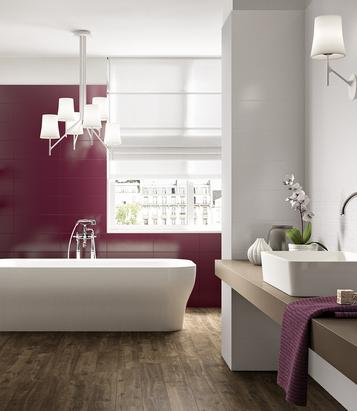 Shine: Purple Tiles: view our collections - Marazzi