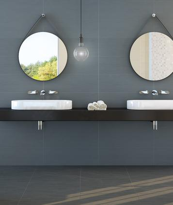 Target - polished tiles for bathroom wall coverings