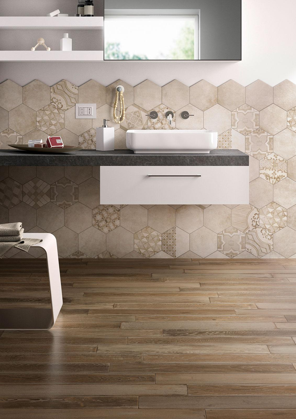Treverkage - Wood Effect - Bathroom