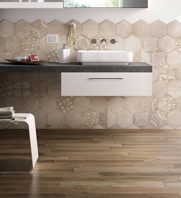 Tiles Wood Effect Bathroom - Marazzi_709