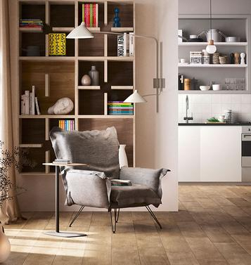 Treverktime – wood effect floor tiles