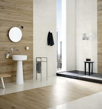 Tiles Wood Effect Bathroom - Marazzi_734