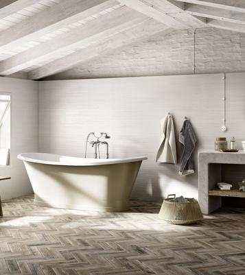 Tiles Wood Effect Bathroom - Marazzi_733