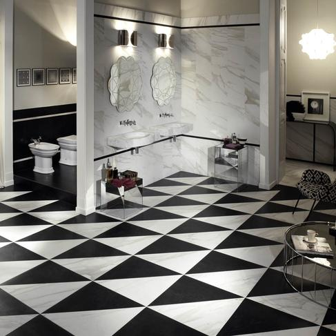 Evolutionmarble floor - Marble Effect - Bathroom