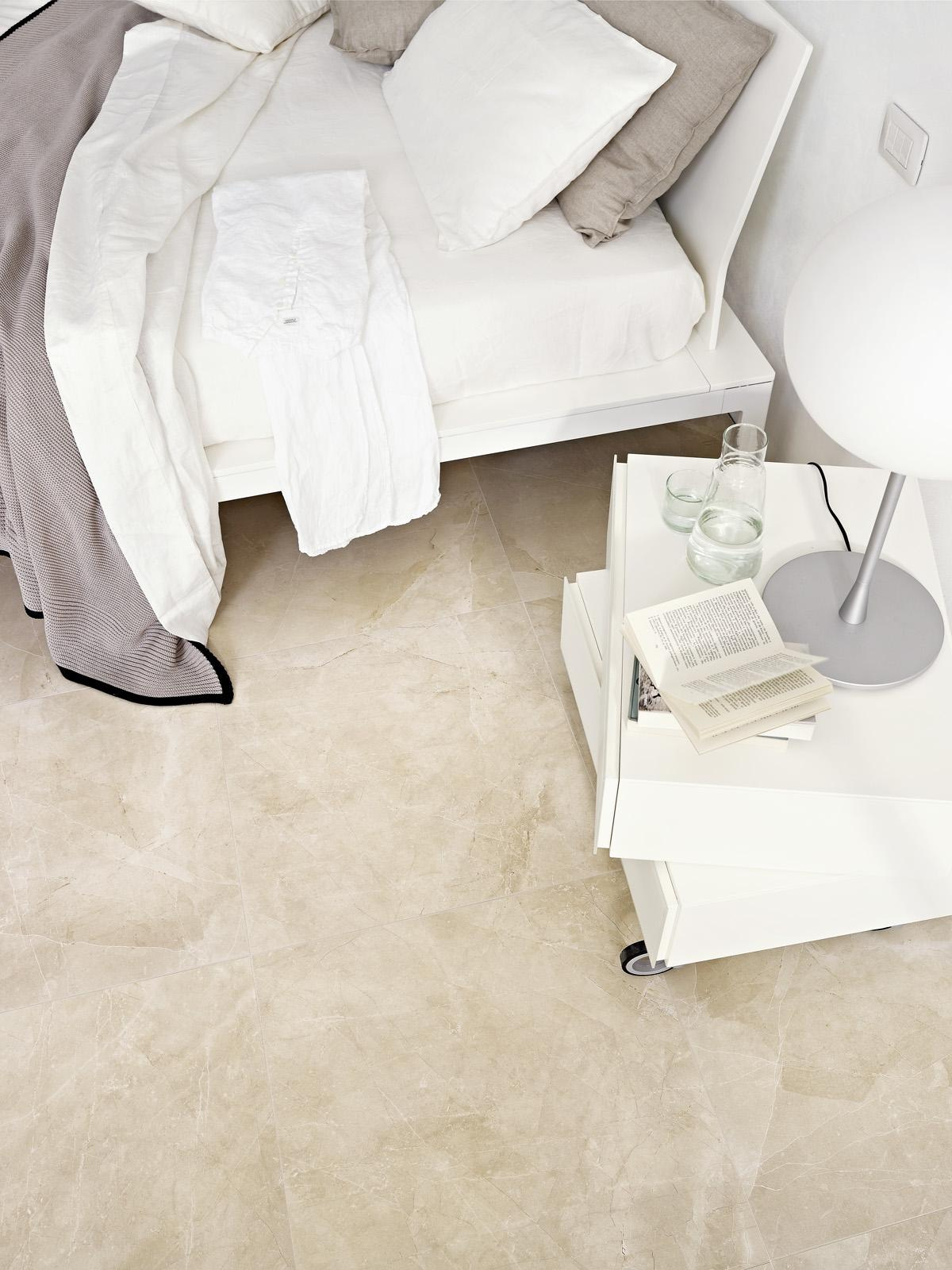 Evolutionmarble floor - Marble Effect - Bedroom