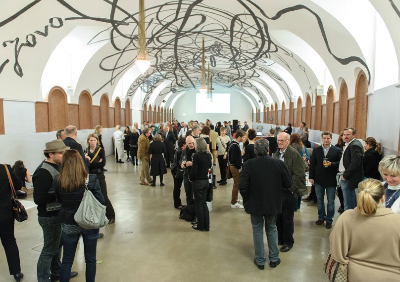 150 architects at the mumok in Vienna