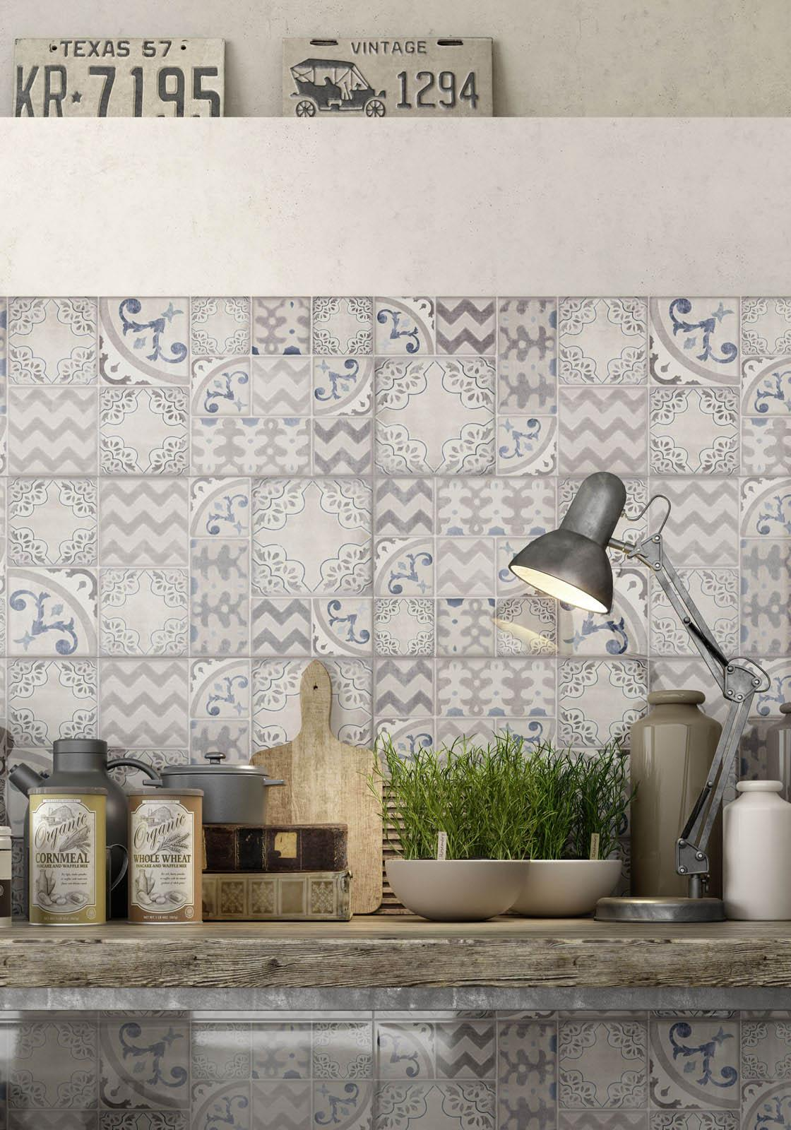 The perfect coverings for an industrial style kitchen