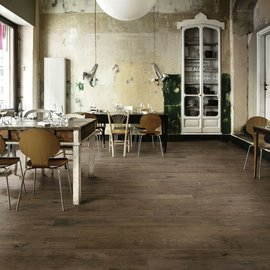 Treverklife and Treverkdear, all the time-worn look of wood on porcelain stoneware