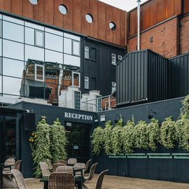 Hotel Bullitt, the beauty of industrial style in a boutique hotel in the heart of Belfast