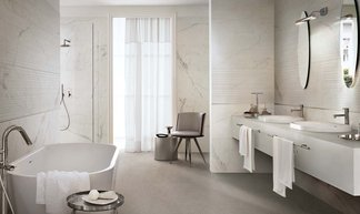 Magnifica: the luxury of natural stone and the performance of contemporary ceramics