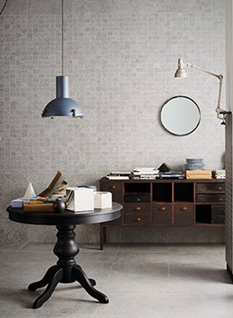 Mystone is the stoneware selected for the Marazzi 2015 campaign.